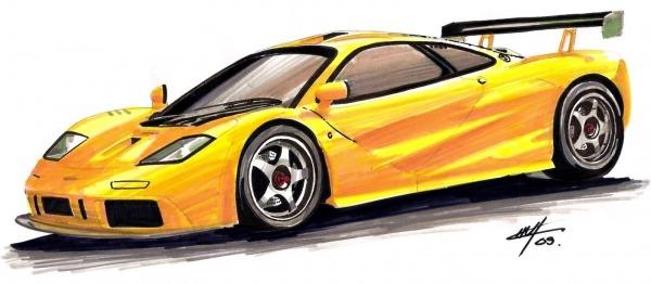 Desenhos De Carros Coloridos Para Imprimir – Pampekids Net