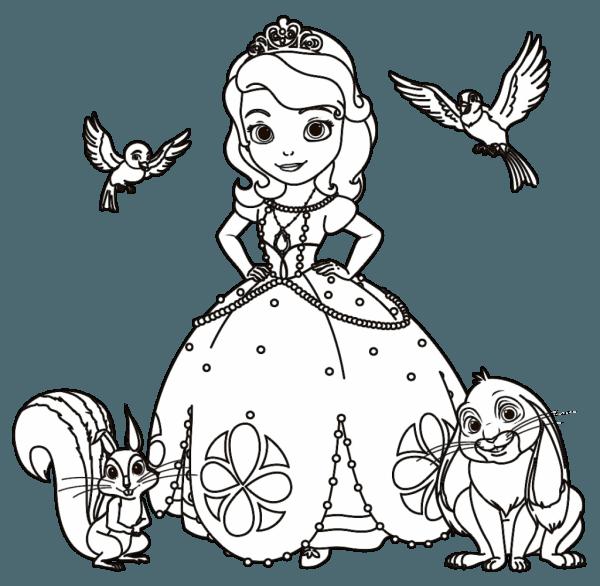 38 Desenhos Para Colorir Princesas