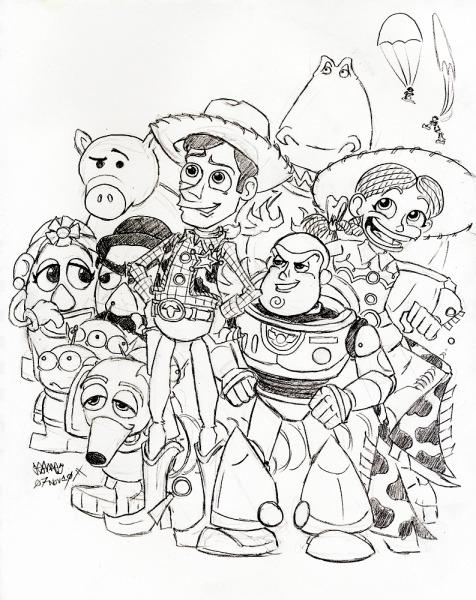 Desenhos Toy Story Para Imprimir – Pampekids Net
