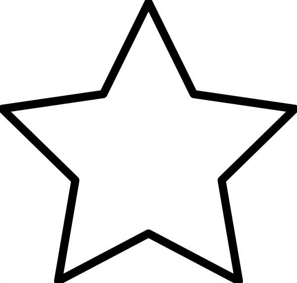 Estrela Para Colorir E Imprimir – Muito Fácil – Colorir E Pintar