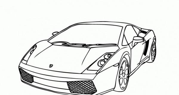 Ferrari Para Colorir E Imprimir
