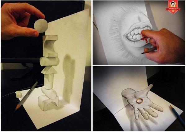 Os Desenhos Que Parecem Ter Vida Própria De Alessandro Diddi