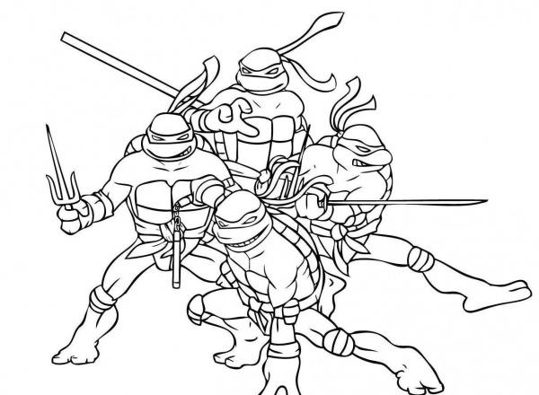 Tartaruga Ninja Desenho