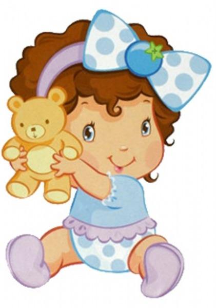 Baú De Figuras  Moranguinho Baby Imagens Decoupage