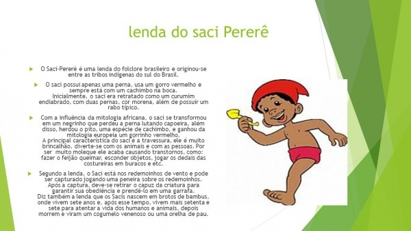 Lenda Do Saci Perere