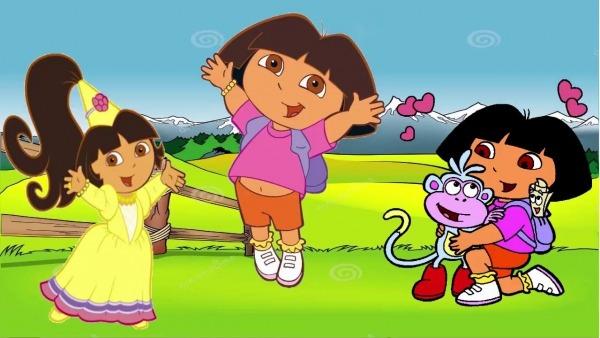 Desenhos Dora Aventureira Dora E Botas E Princesa Dora Em