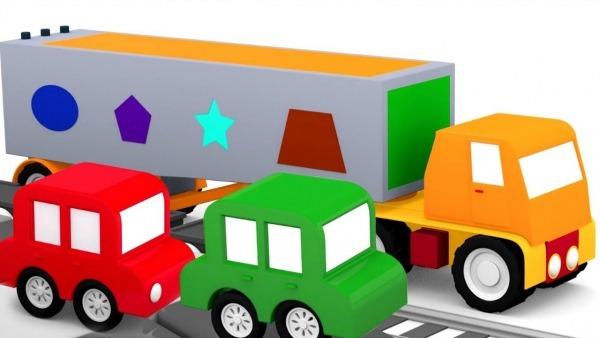 4 Carros Coloridos