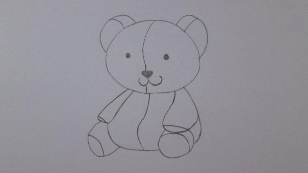 Como Desenhar Um Ursinho De Pelúcia