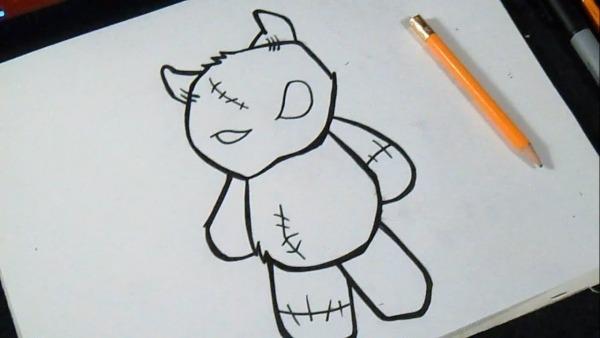 Como Desenhar Ursinho De Pelúcia