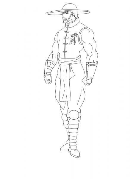 Desenhos Do Mortal Kombat Para Colorir