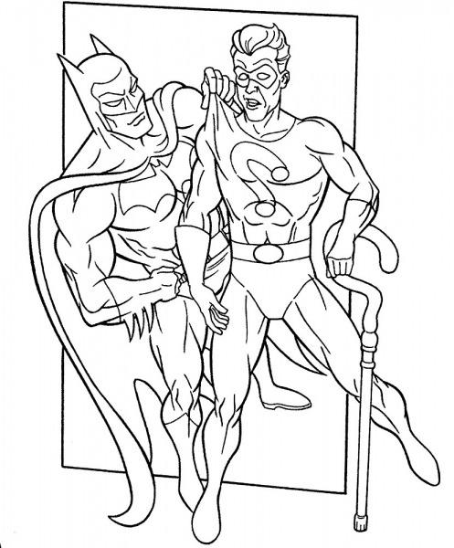 Desenhos De Batman Para Colorir Gratuitos Fazer Download E Imprimir
