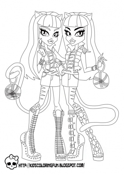 Monster High Activity Book Printable