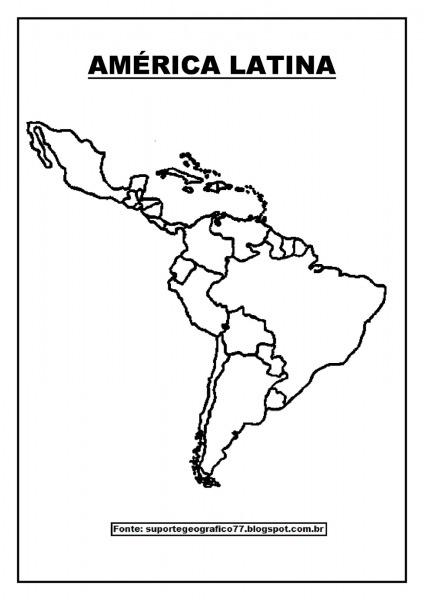Suporte Geográfico  AmÉrica