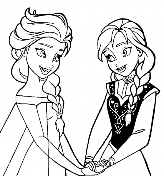 Desenhos Para Imprimir E Pintar Do Frozen