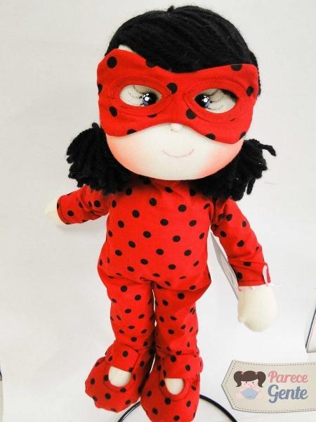 Boneca De Pano Ladybug