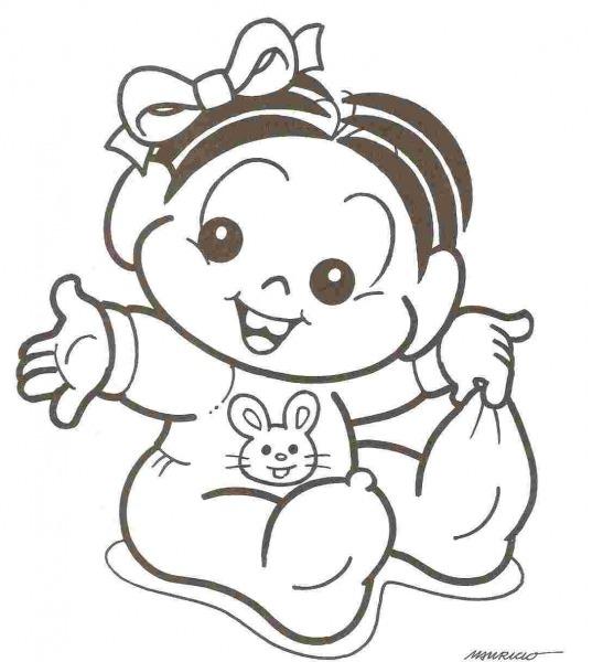 Desenho De Bebe Para Imprimir