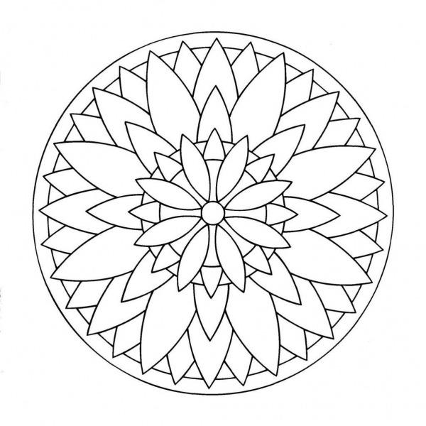 Mandalas De Natal Para Colorir E Imprimir – Pampekids Net
