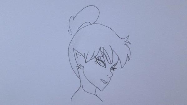 Como Desenhar A Sininho (tinker Bell) By Loblogue