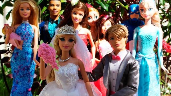 O Casamento De Barbie Beatriz E Ken