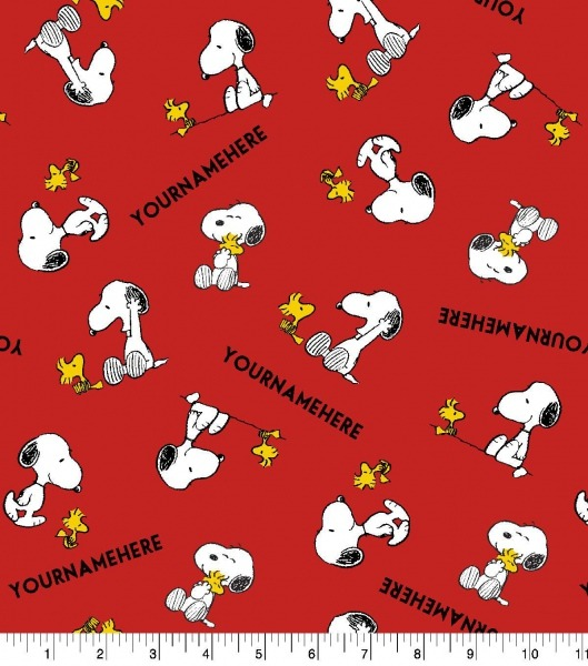 Peanuts Print Fabric By Springs Creative
