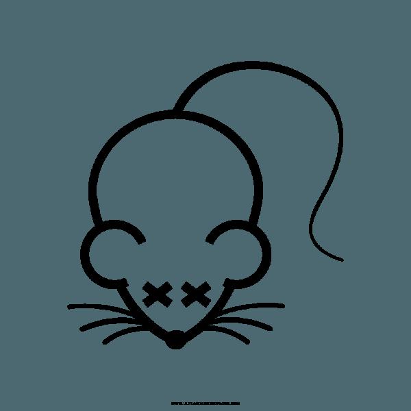 Desenho De Rato