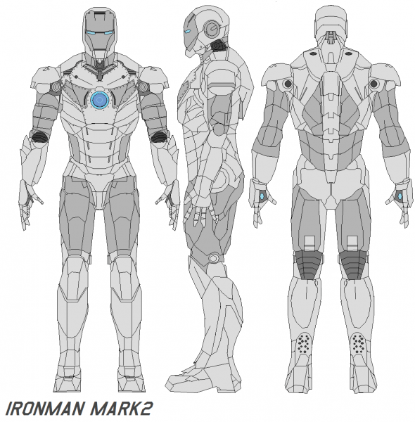 Ironman Mark 2 Armor By =bagera3005 On Deviantart