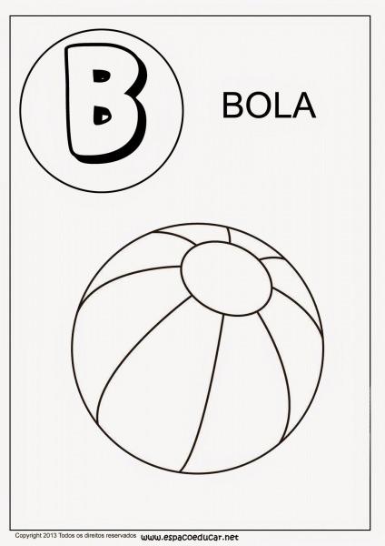 Alfabeto De Colorir