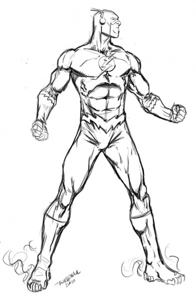 The Flash By Drkwtr1