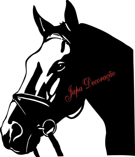 Adesivo Decorativo Cavalo Negro – Free Coloring Pages