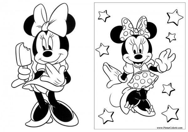 Livro De Colorir Minnie