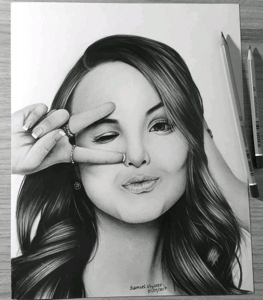 Larissa Manoela Info On Twitter   [foto] Desenho De Larissa