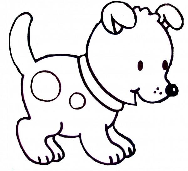 Desenhos De Cachorrinhos Para Colorir