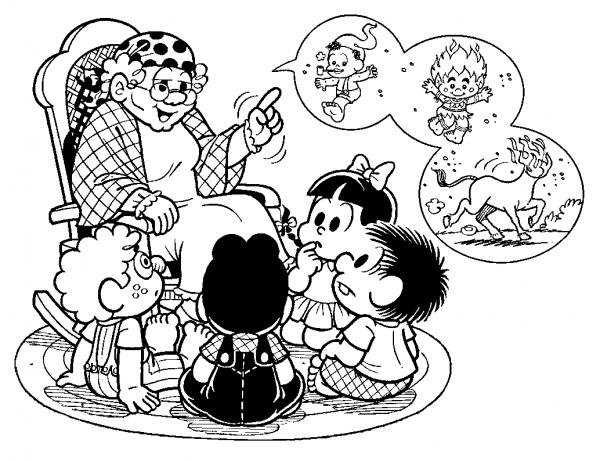 Desenhos Sobre Folclore Para Imprimir