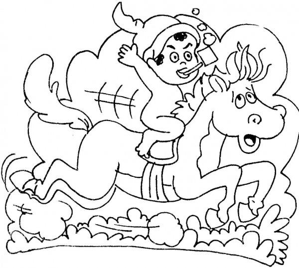 Desenhos Do Folclore Para Imprimir