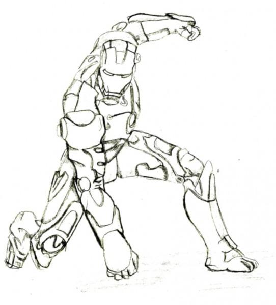 47 Desenhos Iron Man Para Colorir