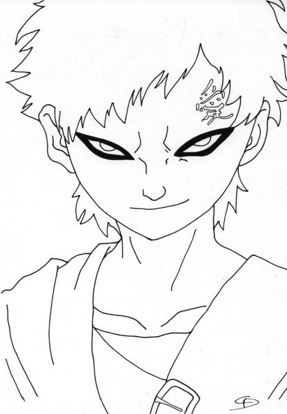 Desenho Para Desenhar Do Naruto