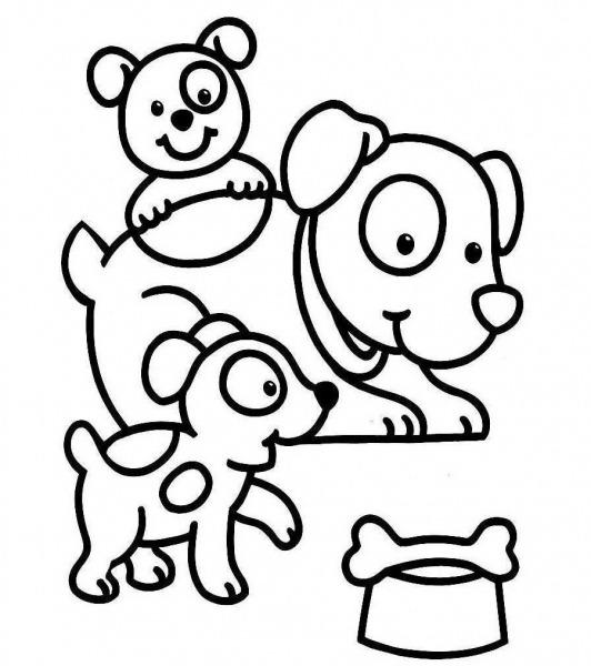 Desenhos De Cães Para Colorir  Desenhos De Raças De Cães Para Pintar