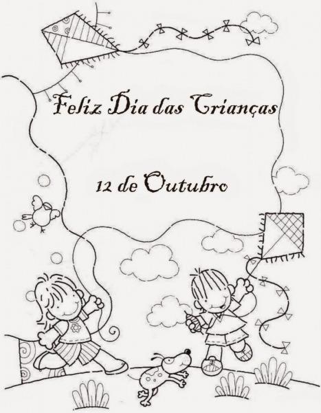 Desenhos Para Colorir Do Dia Das Crianças  Imagens, Imprimir E