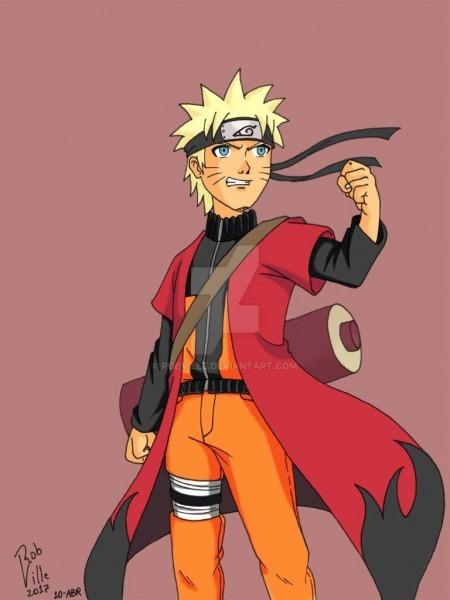Naruto Uzumaki (colorido)