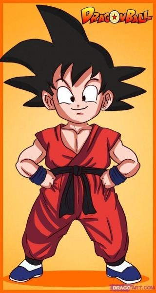 How To Draw Son Goku From Dragonball Z
