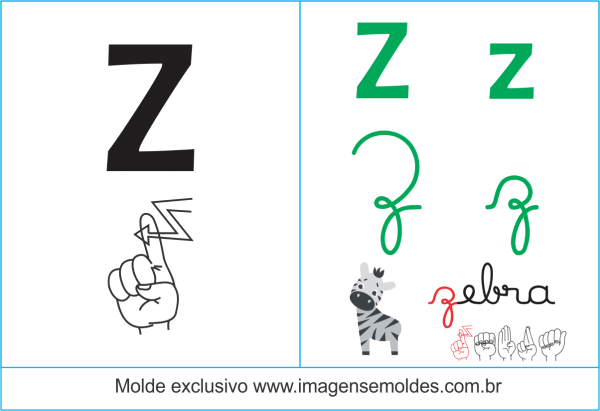Imagens, Cartazes De Letras Em Libras