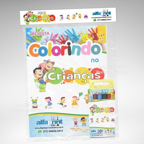 Kit Colorir Para O Dia Das Crianças No Elo7