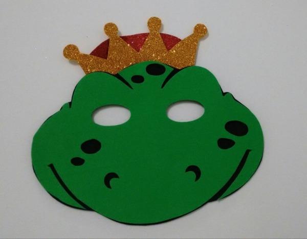Máscara Da Princesa E O Sapo No Elo7