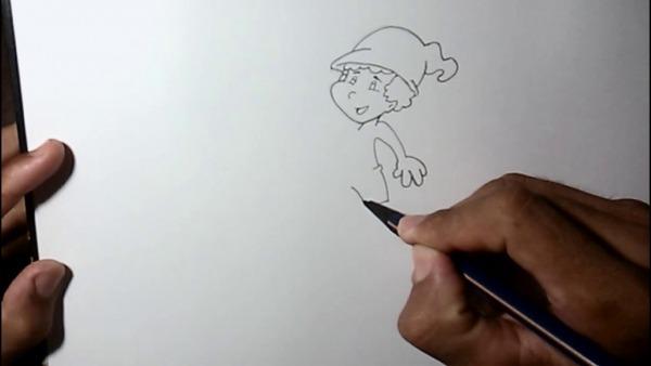 Como Desenhar O Saci Pererê   Desenhos Faceis De Fazer