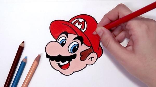 Como Desenhar O Super Mario