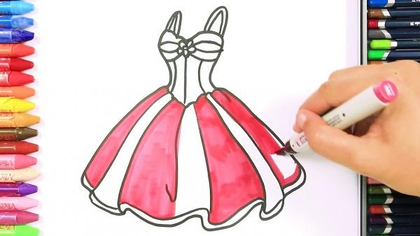 Desenhar Um Lindo Vestido De Princesa