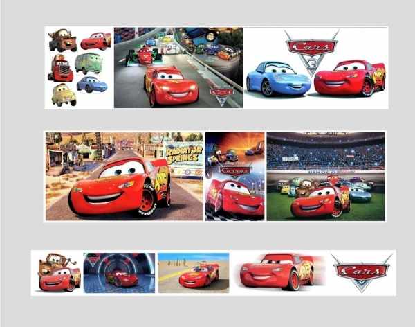 Quadro Disney Carros Mcqueen Pixar Caminhão Corrida Desenho No