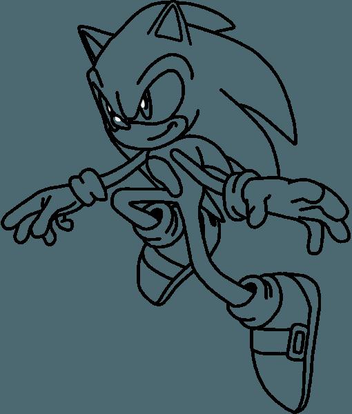 Sonic X Colorir – Pampekids Net