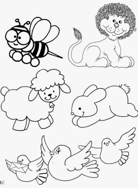 Imagens De Animais Para Imprimir E Colorir