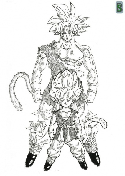 Goku Gt Ssj God By Bloodsplach On Deviantart